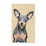 Miniature Pinscher Rectangle Car Magnet
