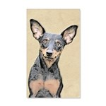 Miniature Pinscher 20x12 Wall Decal