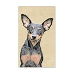 Miniature Pinscher 35x21 Wall Decal