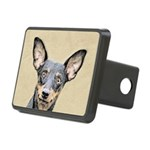 Miniature Pinscher Rectangular Hitch Cover