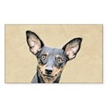 Miniature Pinscher Sticker (Rectangle 50 pk)