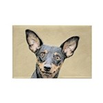 Miniature Pinscher Rectangle Magnet (10 pack)