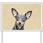 Miniature Pinscher Yard Sign