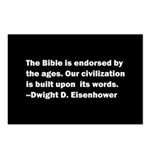 Eisenhower Quote Postcards (Package of 8)