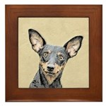 Miniature Pinscher Framed Tile