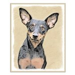 Miniature Pinscher Small Poster