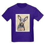 Miniature Pinscher Kids Dark T-Shirt
