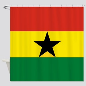 Flag: Ghana Shower Curtain