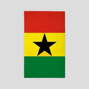 Flag: Ghana Area Rug