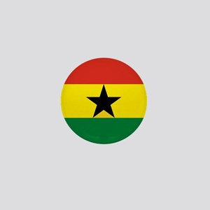 Flag: Ghana Mini Button