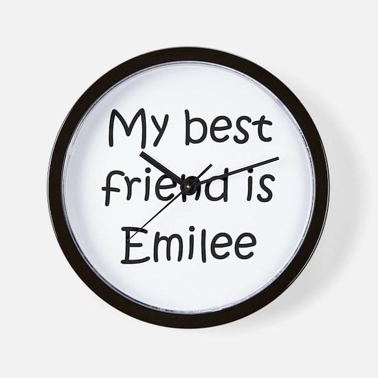 Cute Emilee Wall Clock