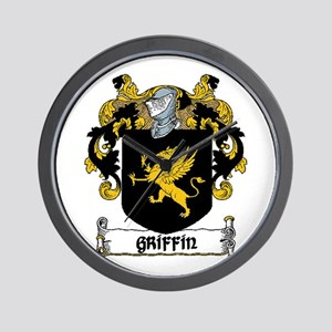 Griffin Coat of Arms Wall Clock