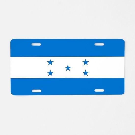 Flag: Honduras Aluminum License Plate