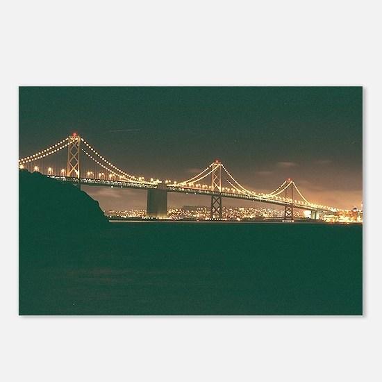 San Francisco Bay Bridge Postcards (Package of 8)