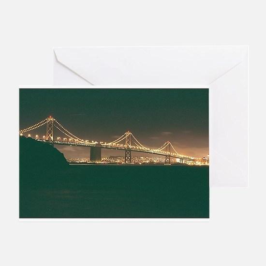 San Francisco Bay Bridge Greeting Card