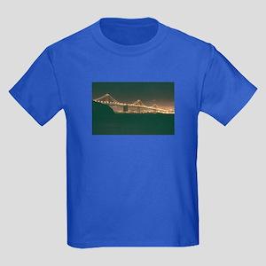 San Francisco Bay Bridge Kids Dark T-Shirt