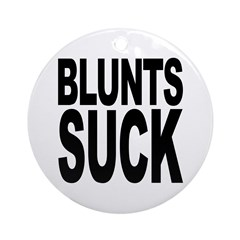 Blunts Suck Ornament (Round)