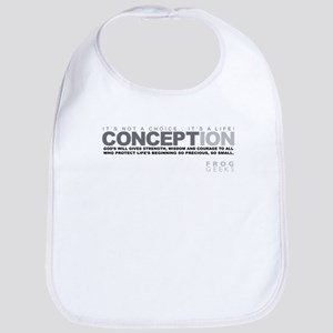 Life Begins at Conception! Bib