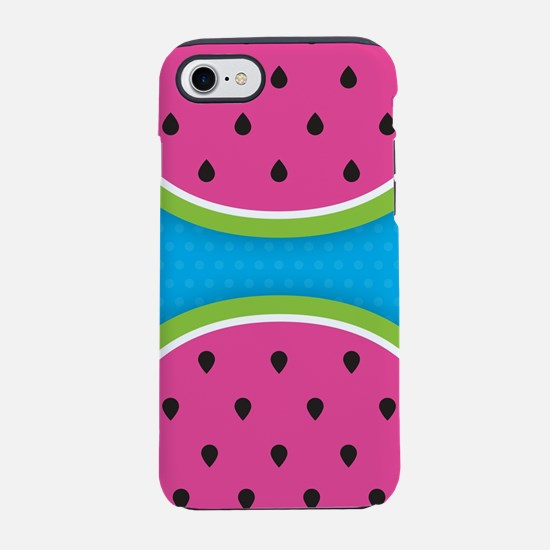 Watermelons Blue iPhone 7 Tough Case