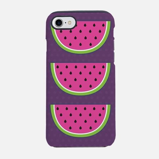 Watermelons Purple iPhone 7 Tough Case