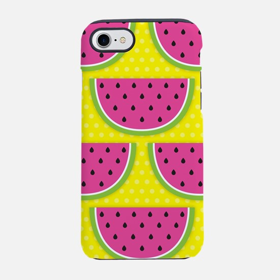 Watermelons Yellow iPhone 7 Tough Case