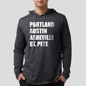 Portland Austin Asheville St P Long Sleeve T-Shirt