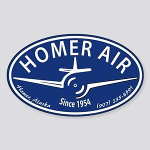 Homer Air Oval Sticker
