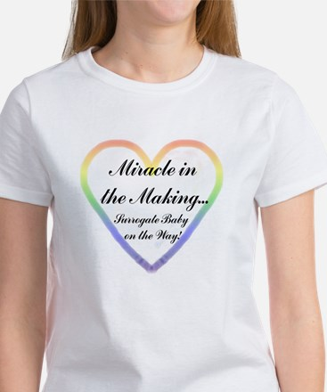 *Miracle in the Making* Women's T-Shirt