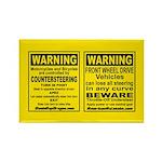 Countersteering & Understeer Magnet (10 pack)