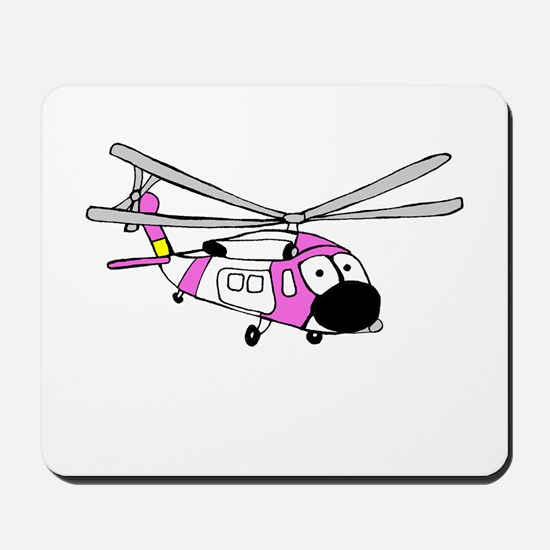Pink HH-60 Mousepad
