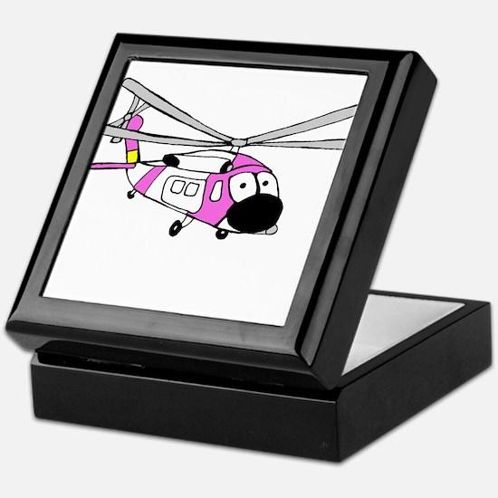 Pink HH-60 Keepsake Box