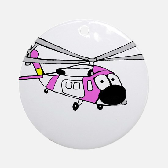 Pink HH-60 Ornament (Round)