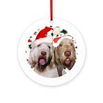 Johnny & Isabella Ornament (Round)