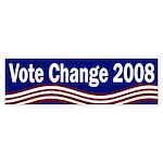 Vote Change 2008 (bumper sticker)