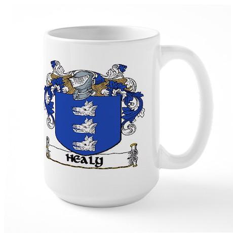 Healy Coat of Arms Large Mug
