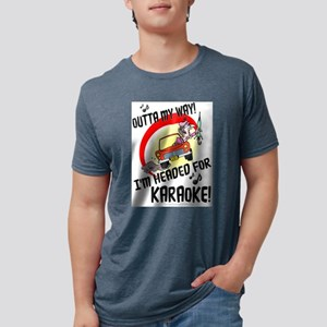OUTTA MY WAY! KARAOKE White T-Shirt