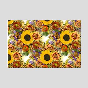 Autumn Bouquet Mini Poster Print