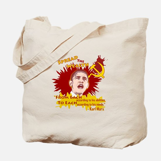 Obama Spread the Wealth Tote Bag