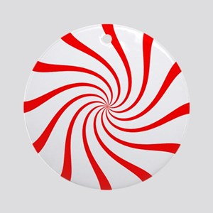Peppermint Ornament (Round)