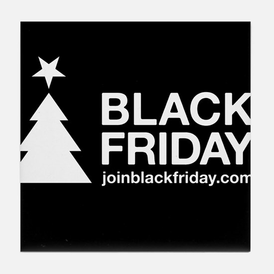 Black Friday Tile Coaster