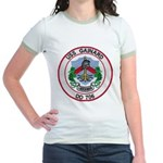 USS GAINARD Jr. Ringer T-Shirt