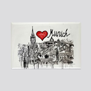 I love Munich Magnets