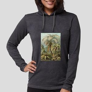 Vintage Tropical Palm Long Sleeve T-Shirt
