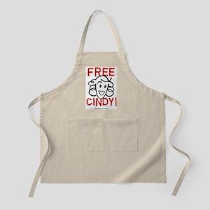 Free Cindy! BBQ Apron