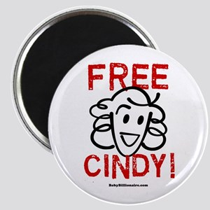 Free Cindy! Magnet