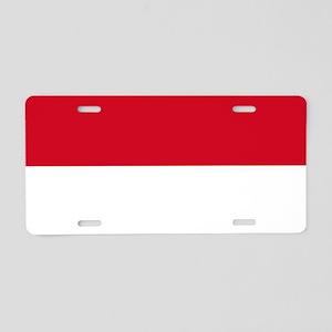Flag: Indonesia Aluminum License Plate