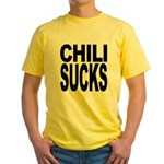 Chili Sucks Yellow T-Shirt