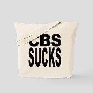CBS Sucks Tote Bag
