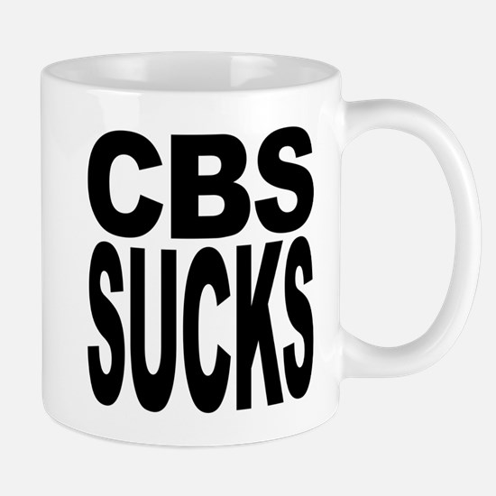 CBS Sucks Mug