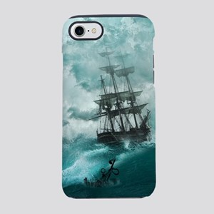 Storm Sea Ship Shipwreck Oce iPhone 8/7 Tough Case